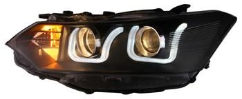 Toyota Vios Headlamp Tinted