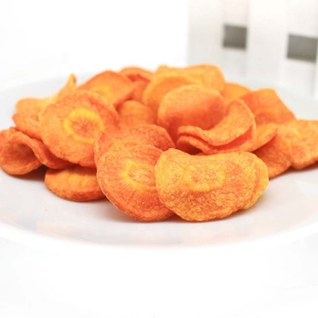 low temperature factory price healthy snack- vf carrot