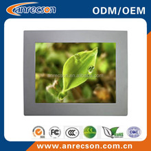 15 inch capacitive touch screen industrial embedded panel pc + USB ports