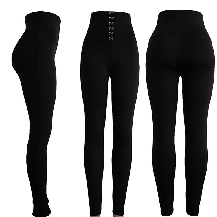 Di modo a vita alta push up delle donne pantaloni collant donna leggings