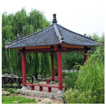 Traditional Anese Gazebo Roof Styles Tiles