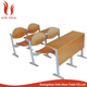 cheap price school table wood study chair and table
