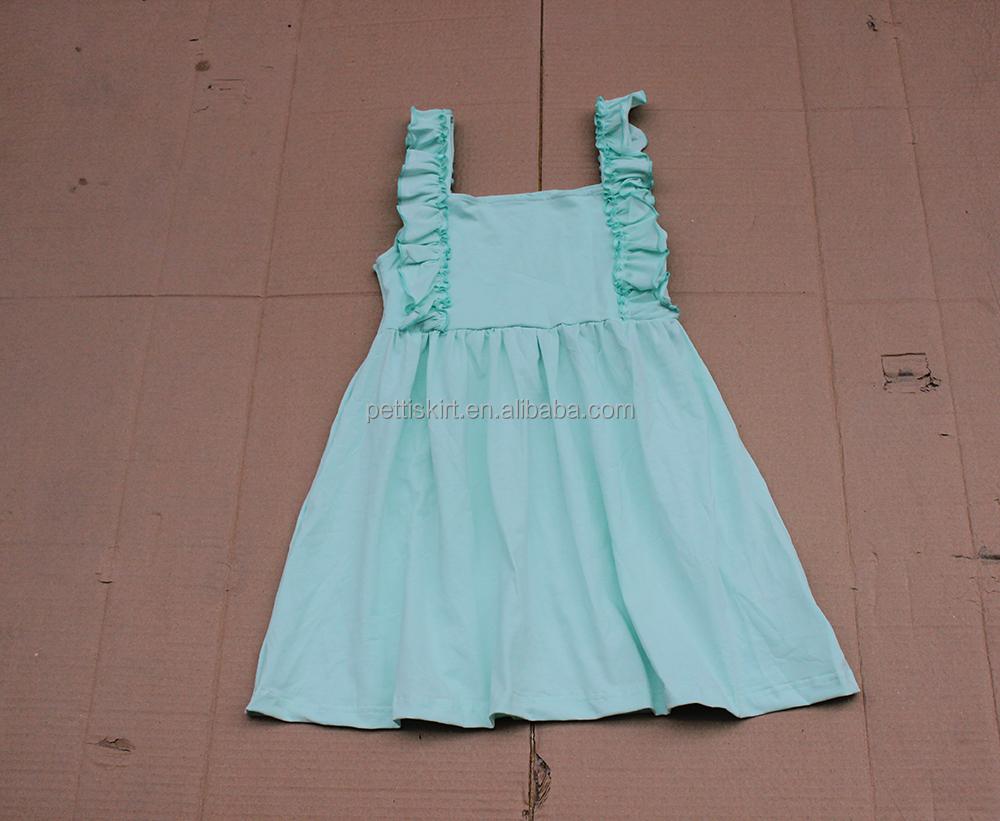 Latest stylish colorful print flower baby girl dress soft jacquard ...