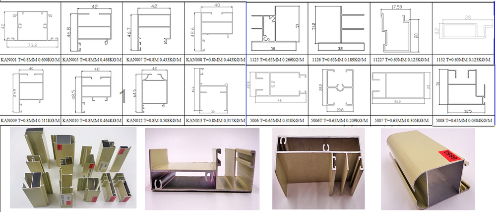Aluminium Section For Kitchen Door Buy Aluminium Section