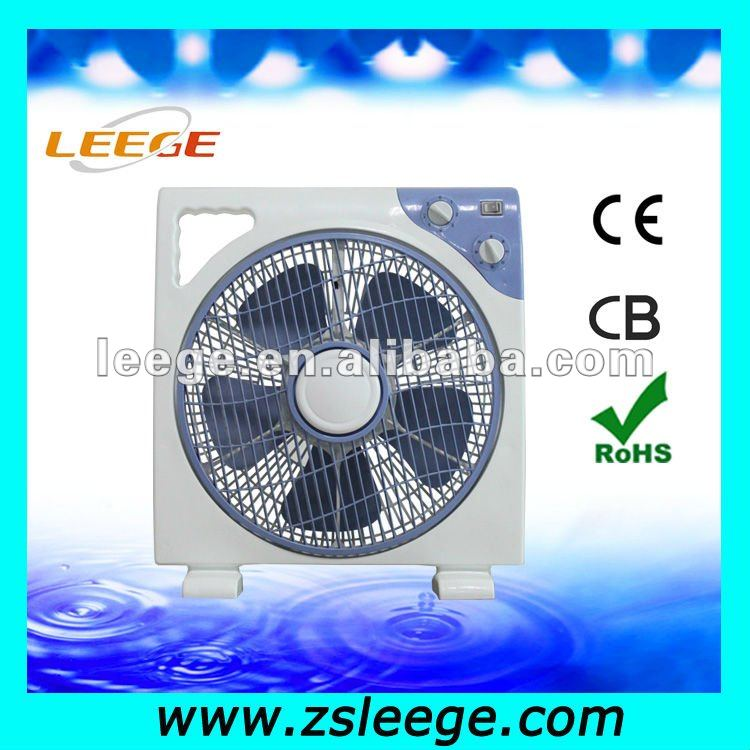 10 'box type electric fan/desk fan/turn pages fan with low noise, safety