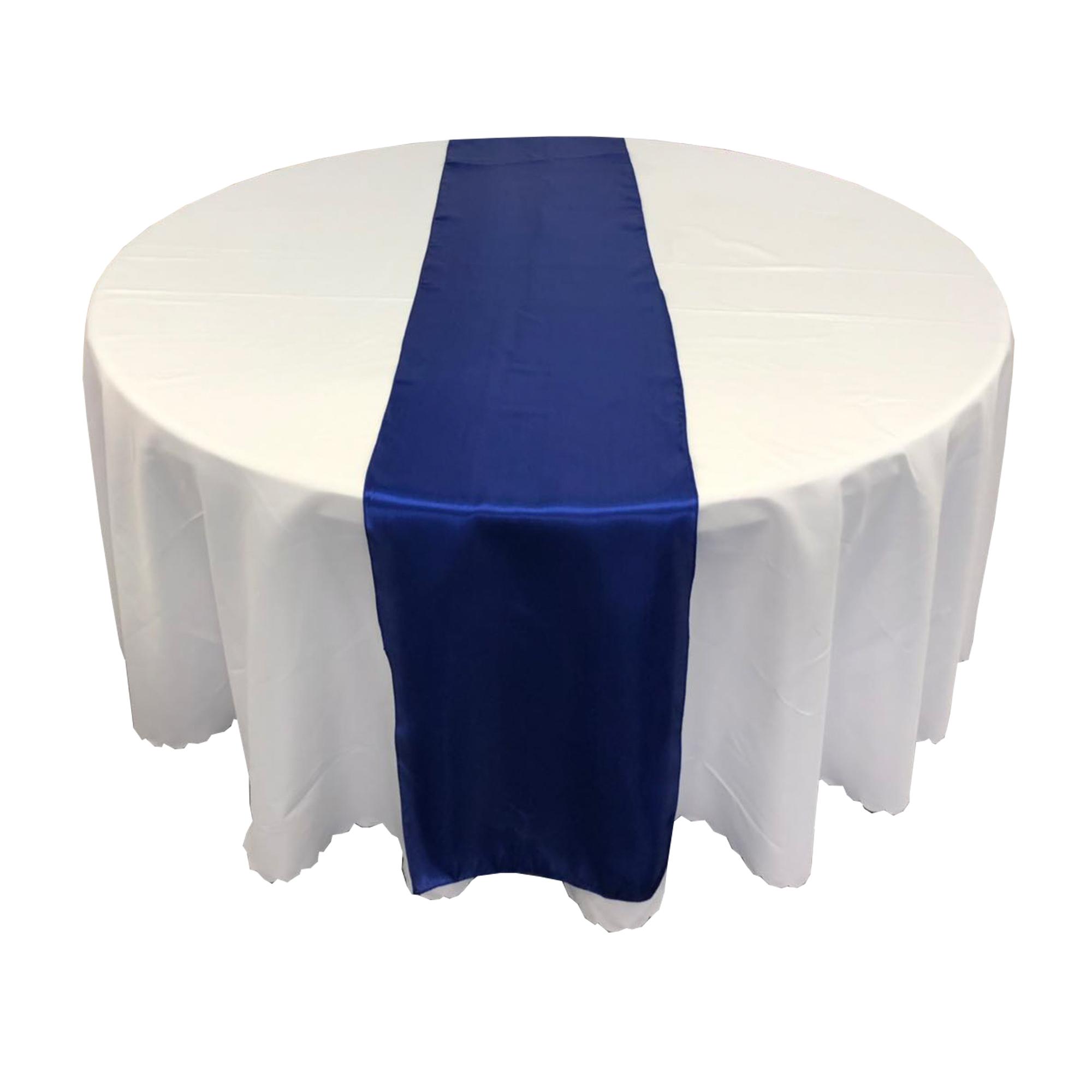 Wedding Table Decorations Navy Blue Satin Polyester Table Runner Buy Wedding Table Runner Satin Table Runners For Weddings Navy Blue Table Runner