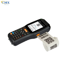 warehouse management NFC 3G android handheld barcode scanner with printer