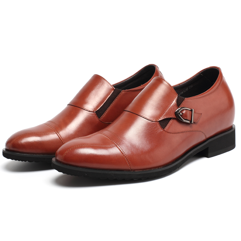 shoes bridal height color shoes hidden dress fancy 8CM increasing wine Mens vtqg1wPv