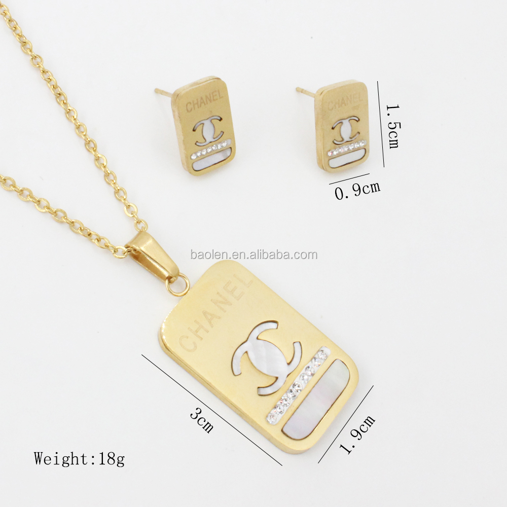 Necklaces & Pendants The Best New Fashion Luxury Rose Gold Love Pendant Necklace For Women High Polish 316l Stainless Steel Necklace Jewelry Packing Of Nominated Brand Jewelry & Accessories