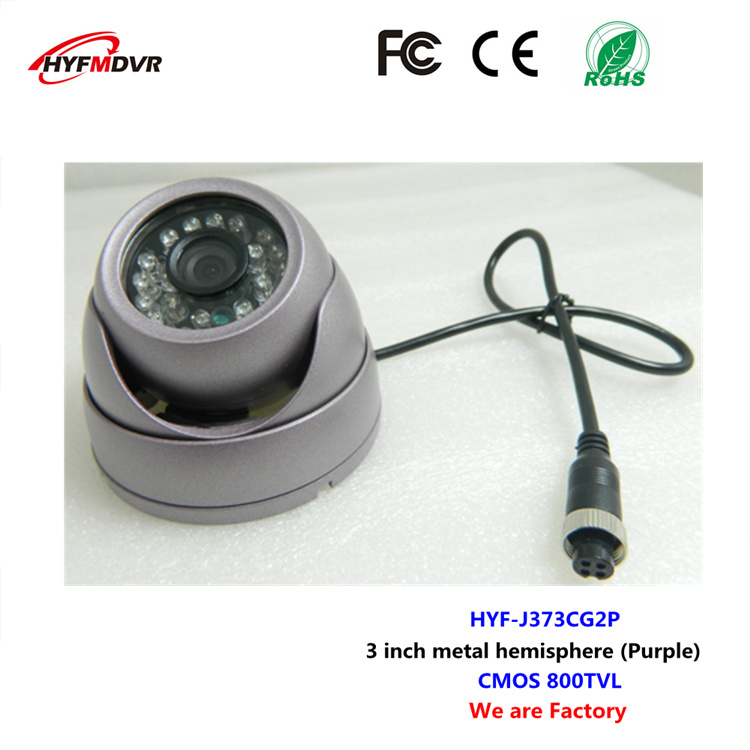 Industrial chip camera conch hemisphere monitor probe CMOS 800TVL NTSC/PAL system