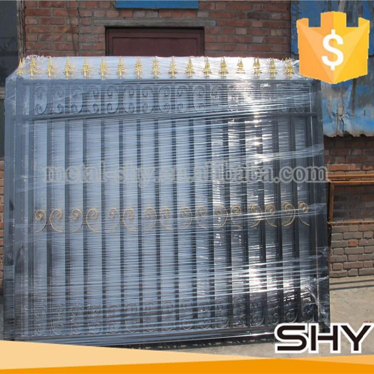 artistical cheap used metal aluminum picket fence panels. Black Bedroom Furniture Sets. Home Design Ideas