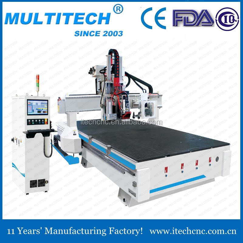 Best service high speed 2040 atc cnc router with gang drilling
