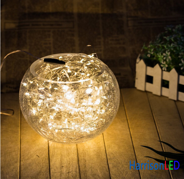 Home Garden Decor Battery Adapter Pathway Light Led Patio String ...