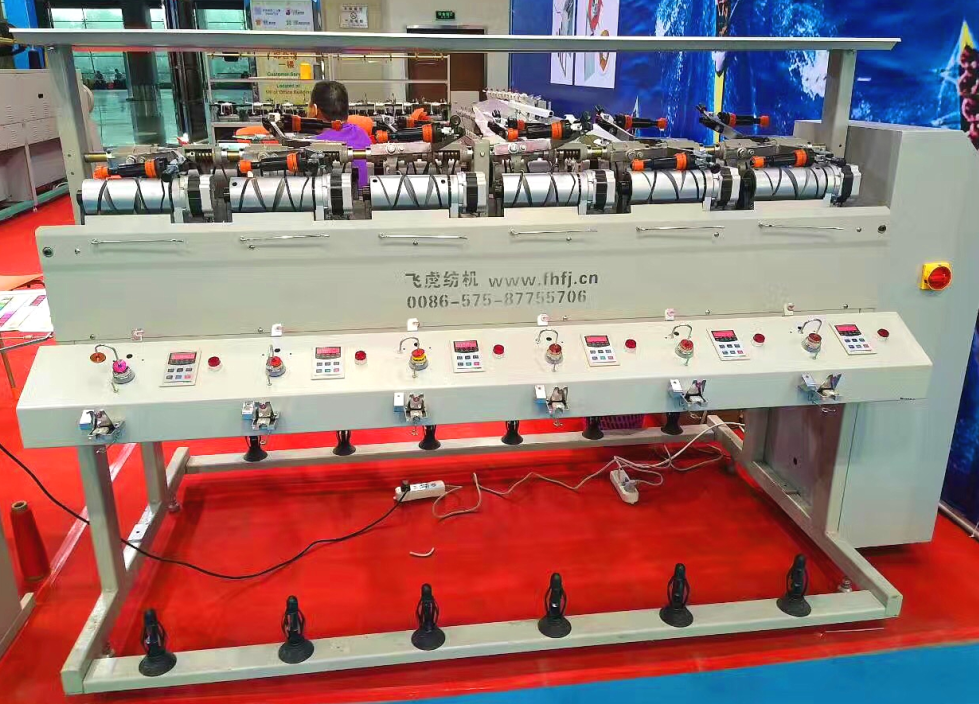 New high speed grooved drum yarn winding machine price