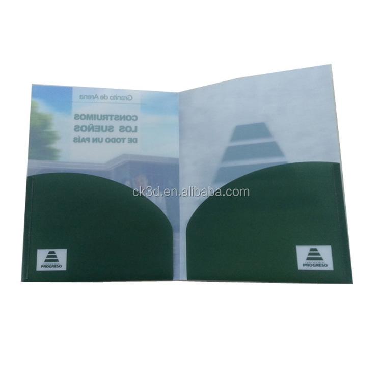 2021 zollamt halb transparent A4 größe L-form pp kunststoff taschen datei ordner