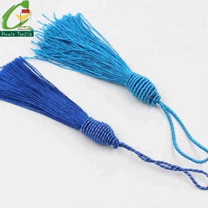 Mini Cotton Thread Knitted Tassel Rope and Fringes