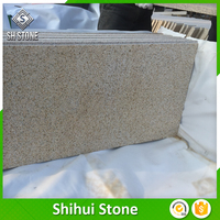 G682 Quarry Owner Building Material Yellow Rustic Granite