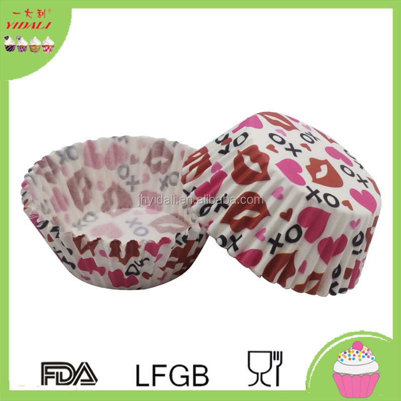 Valentine's day cupcake wrapper,cupcake liners,baking cup