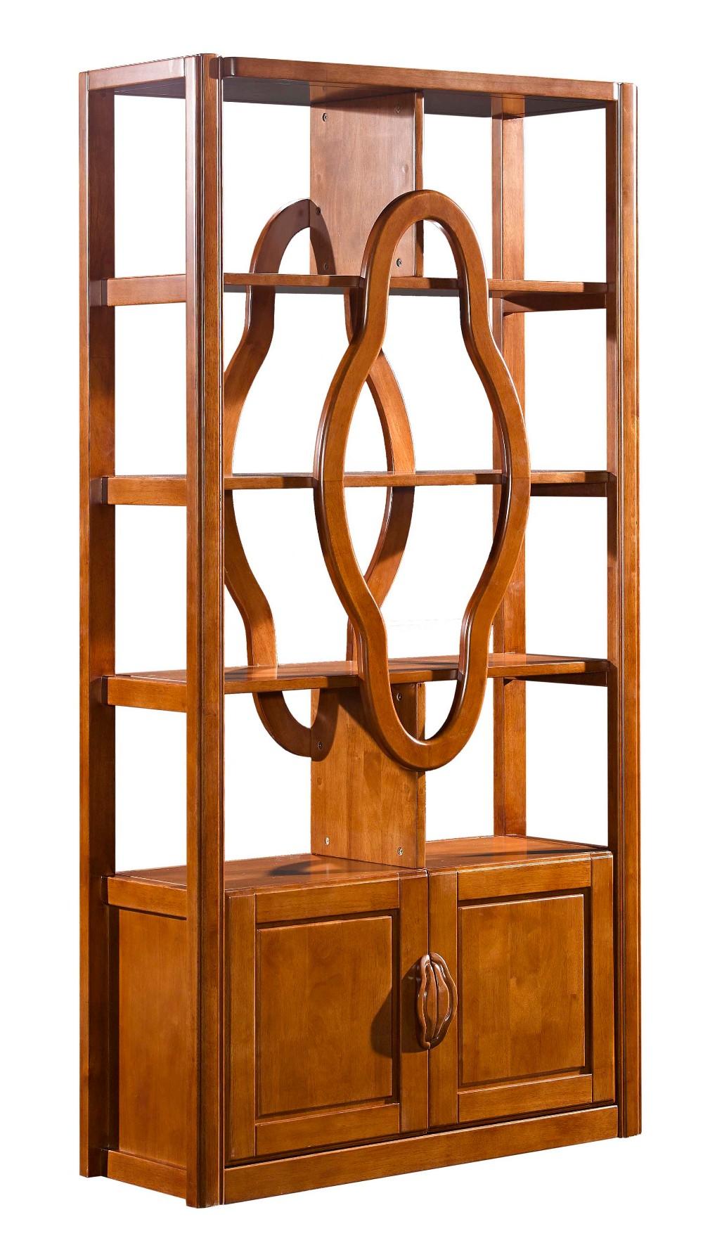 Moderne Massivholz Möbel Wohnzimmer Weinschrank Vitrine Teiler 8360
