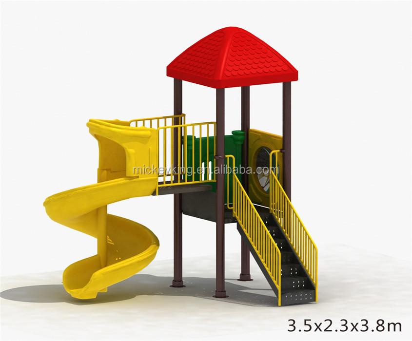 Barato Jmq-g030e Niños Casa Juego Área Interior Diapositivas Patio ...