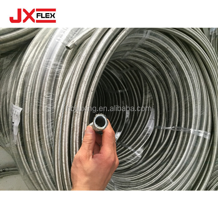 Stainless Steel Braid Cover Hydraulic Hose, Stainless Steel Braid ...