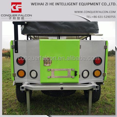 mini voyage remorque camping voiture remorque moteur