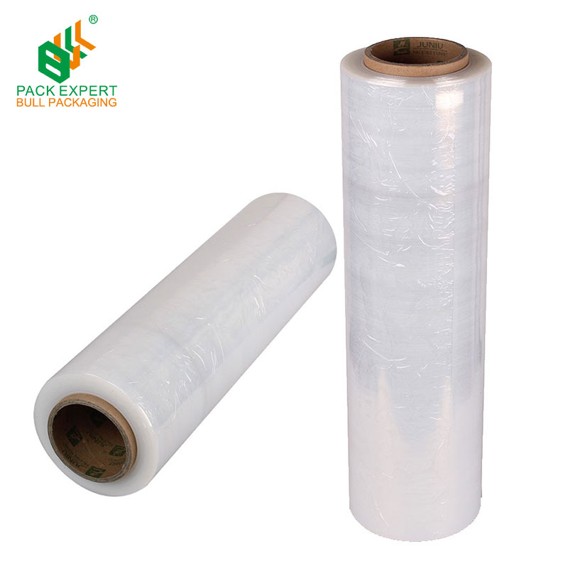 ShenZhen Fabrikant LLDPE stretch film wrap pallet LLDPE stretch Film, Clear LLDPE stretch wrap