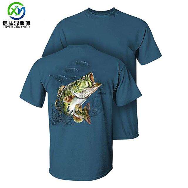 6bb373597b0e Fish Print T Shirt Wholesale, T Shirts Suppliers - Alibaba