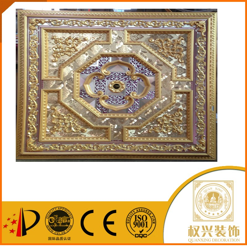 China building materials Middle East style Hotsell pop ceiling design in ghana 2x2 ceiling tiles for interior decoration