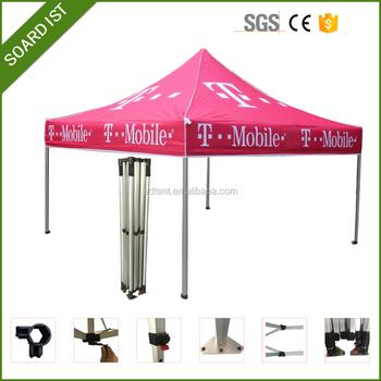 Gazebo Tent 4x4 Cheap Pop Up Roof Flat Top Folding Canopy