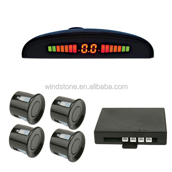 Hottest Selling with USD 6/set,Rainbow Display Reverse Sensor System