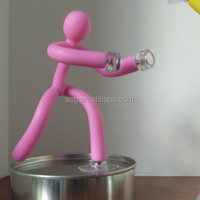 bendable q-man magnet toy
