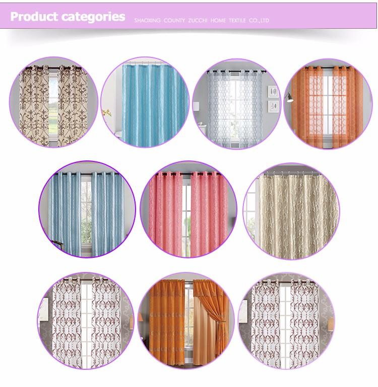 Curtain - Buy Flocking Textile Drapery Curtain,Flocked Fabric Curtain ...