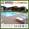 Eco-friendly bamboo plastic composite deck outdoor cheap price solid wpc flooring
