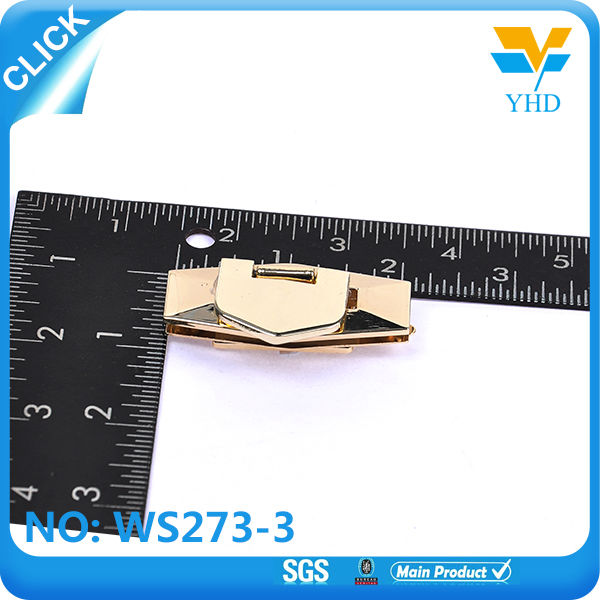 Fashion metal handbag hardware bag lock on sale