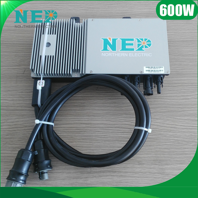 Waterproof Grid Tie Home Solar Micro Inverter 500W 600W