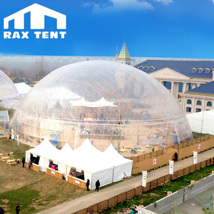 50m dome party event tent for greenhouse, glamping, hotel, restaurant