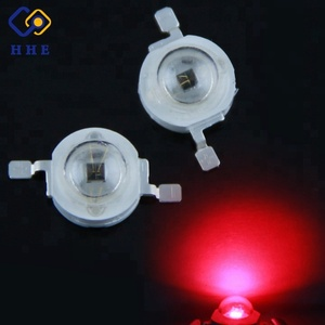 100% Guaranteed 3w 660nm/630nm red led(Professional Manufacturer)