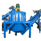 Dirty Plastic PET Bottle Recycling Machinery Cold Hot Washing Line