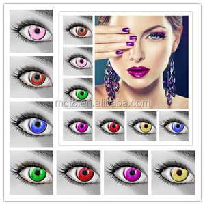 Doll eyes cosplay design wild eyes crazy contact lens