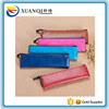 custom high quality pu leather golf pencil bag with emboss logo