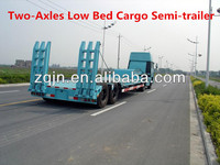 2014 2/3 Axles 40t-80T low bed Cargo Utility Truck Semi Trailer
