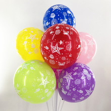 12inch latex balloon Cute Cartoon Printed Balloon Animal Balloons Children's Day Decor Kids toys