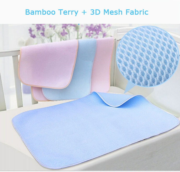 Bamboo Sleeping Mat and 3D Knitting Mesh Home Liners