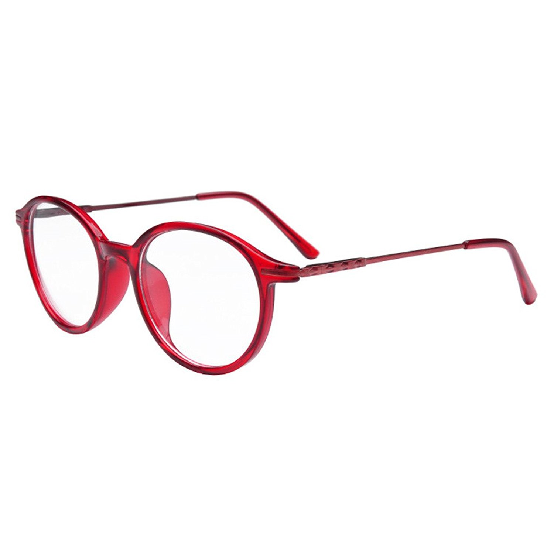 4062b77befea Get Quotations · Simvey Women s Vintage Designer TR90 Prescription Eyeglass  Frames 53mm