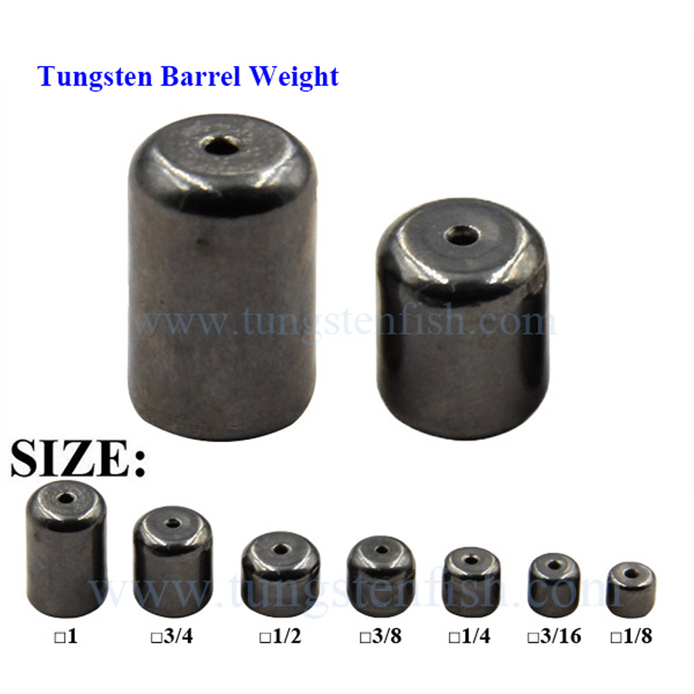 Reaction Tackle Tungsten Barrel Weights
