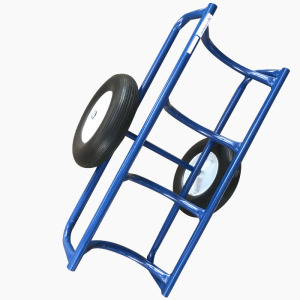 Steel Model Moving Oil Drum Cart Oil Drum Trolley with Capacity 500kgs
