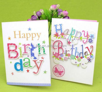 Super Happy Birthday Handmade Greeting Flash Card Buy Handmade Personalised Birthday Cards Paralily Jamesorg