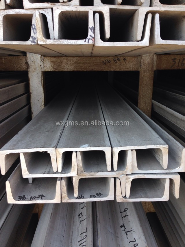 cold rolled steel bar sizes C channel stainless steel c channel