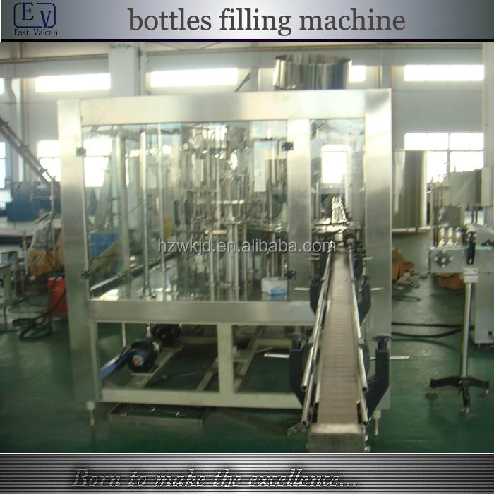automatic fruit juice bottle filling and packing machine